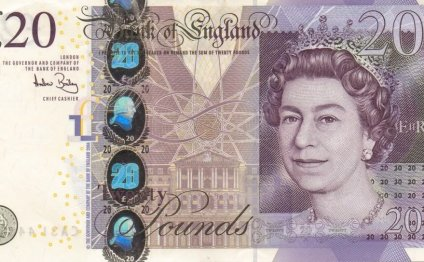 20 pound note obverse