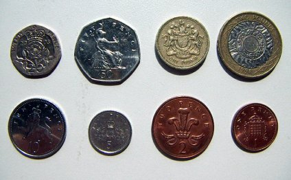 Bank of England coins