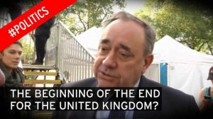 Alex Salmond says he expects a new push for a Scottish independence vote
