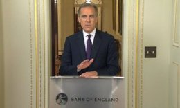 Bank of England governor Mark Carney speaks in London after Britain voted to leave the EU.